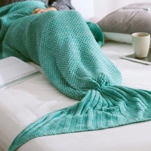 🍂NEW ARRIVAL🍂Knitted Mermaid Tail Blanket